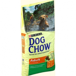 Сухой корм Dog Chow Adult Мясной коктейль для собак всех пород (500 г)
