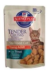 Hills Science Plan Optimal Care сухой корм для кошек, с