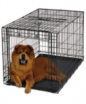 Клетка для собак Midwest Ovation Sliding Door Dog Crate (78,7 х 55 х 60,3 см, 1 дверь) черная